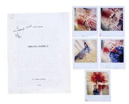 AMERICAN HISTORY X (1998) - Edward Furlong-signed Daniel Vinyard Hero Essay with Death Scene Continu