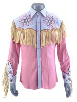 BACK TO THE FUTURE PART III (1990) - Marty McFly's (Michael J. Fox) Western Shirt