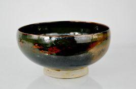 A Michel Francois studio pottery bowl, 24cms diameter