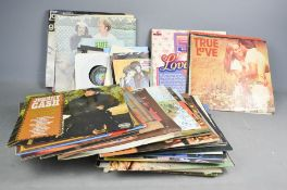 A group of records to include singles and LPs, Diana Ross and The Supremes, Burt Bacharach, The