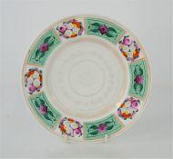 A 19th century Russian porcelain plate - Gardner porcelain factory Verbilki Moscow - 22cm