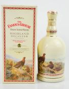 The Famous Grouse Fine Scottish Whisky, in original box.