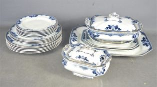 A part dinner service by Milford to include tureens , dinner plates etc