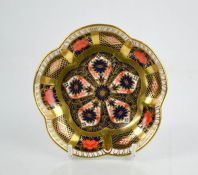 Two Royal Crown Derby dishes, in the 1128 Imari pattern, and 2451 pattern.