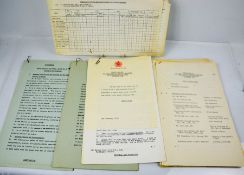 A group of documents for HM the Queen and HRH the Duke of Edinburgh State visit to Ethiopia and