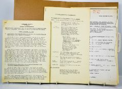 A rare group of documents to Chief Inspector Mayer when accompanying HRH, The Duke of Edinburgh to