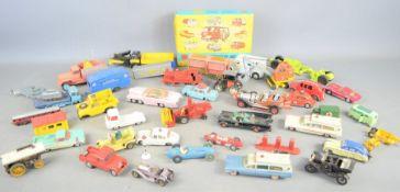 A quantity of Dinky, Corgi, Lesney and Meccano diecast toys