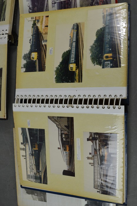 Four vintage photo albums of steam and diesel locomotives - Image 6 of 6
