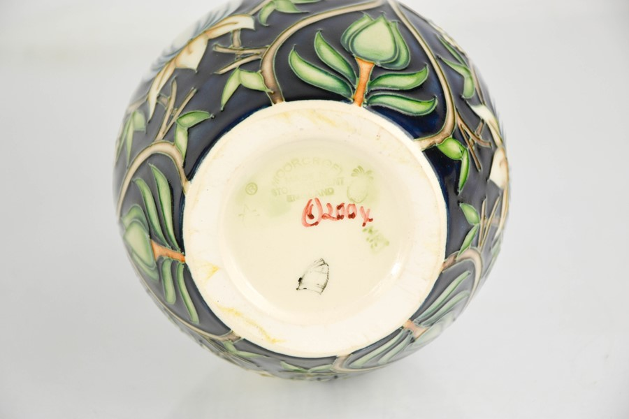 A Moorcroft vase, initialled MRJ to the base, and dated 2004. - Image 2 of 2