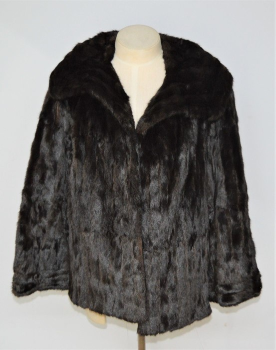 A vintage Ermine fur jacket