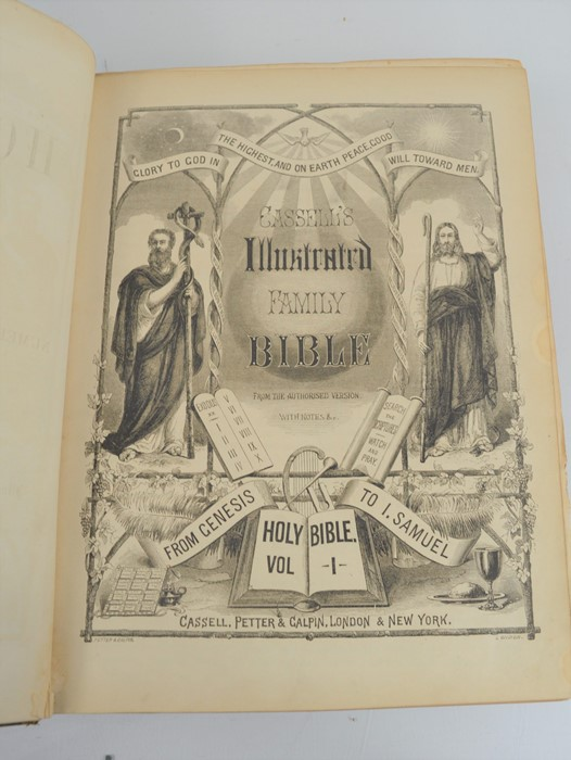 An antique bible. - Image 4 of 4