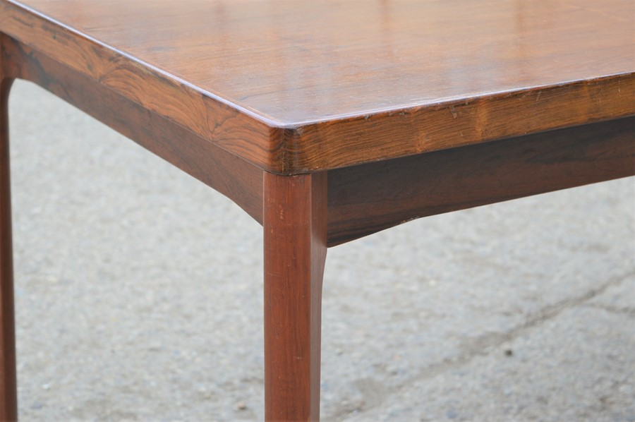 A Mid-Century Vejle Moebelfabrik extending dining table, 240cm by 88cm by 73cm high - Image 2 of 7
