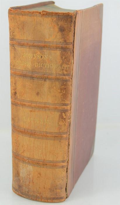 Dr Samuel Johnson dictionary 1876.