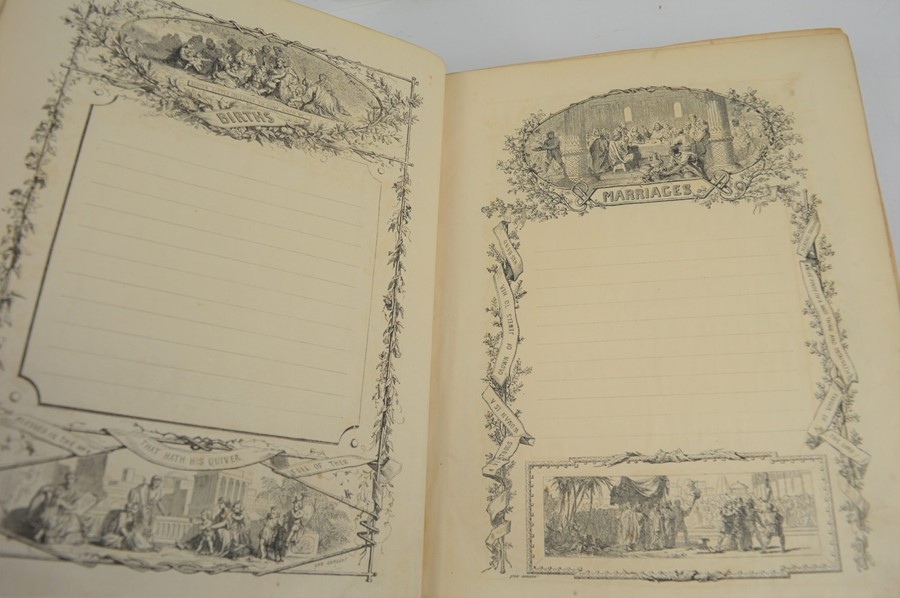 An antique bible. - Image 2 of 4