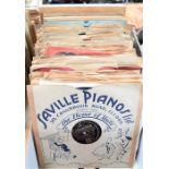A group of Frank Sinatra 78rpm records to include some early examples and samplers for radio
