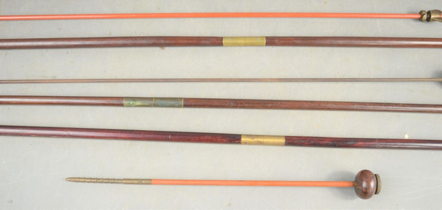 A group of vintage gun cleaning rods, some Parker-Hale examples - Image 3 of 4