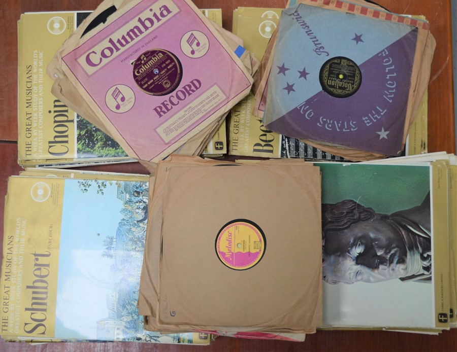 A large collection of The Great Musicians Classical Vinyl to include Beethoven, Schubert together