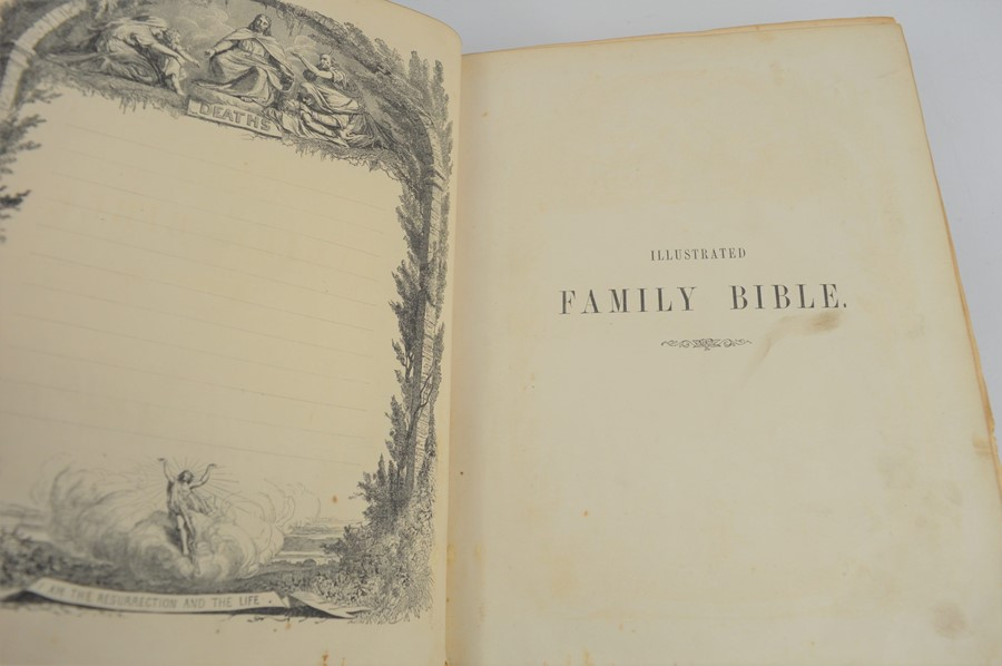An antique bible. - Image 3 of 4