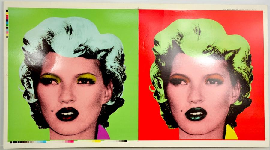 Banksy (British b. 1974): Dirty Funker, Lets Get Dirty, Screen Print, 2006, printers proof with