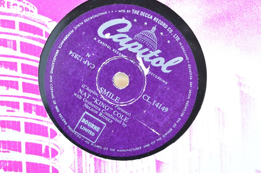 A large group of 78rpm records to include Little Richard. Bill Hailey and his Comets, Dean Martin, - Image 6 of 8