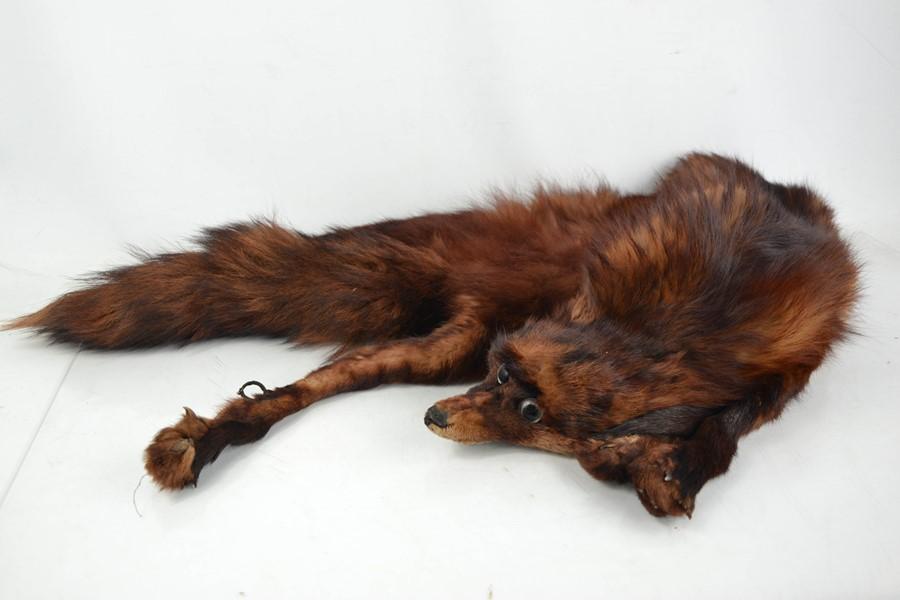 A vintage fox stole.