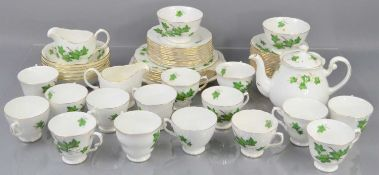 A Crown Royal and Colclough part tea/dinner service