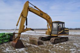 "CAT E120B excavator, hyd thumb, 36"" bucket, ditch bucket, 5274 hrs, SN 001200"
