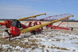 Westfield MK 130-91 plus auger, w/ Pit Express drive over unload, 540 PTO, hyd raise