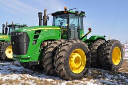 John Deere 9630 tractor, 4WD, 710/70R42 duals, power shift, front inside & outside wheel wts, rear