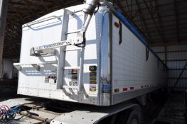 40' 2006 Timpte hopper bottom trailer, commercial hoppers, 11R24.5 tires, air ride, 8 alum wheels,
