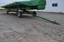 30' Unverferth header cart, 7.50-10 tires