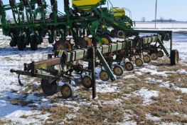"8 row x 30"" John Deere row crop cultivator, 3pt, end transport"