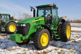 John Deere 7920 tractor, MFWD, IVT, 480/80R42 rear duals, 380/85R30 front, front fenders, front wts,