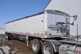 40' 1998 Timpte hopper bottom trailer, commercial hoppers, 11R24.5 tires, spring ride, 4 alum