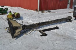 Unverferth cleated belt conveyor, with mount for John Deere 1990 air seeder