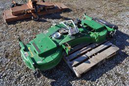 "72"" John Deere 72D AutoConnect belly mower"