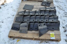 DK628-0 LH cutters for DK, Inter-drain and Hoes trenchers