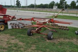 9' Kuhn GA4101GT rotary rake, pto drive