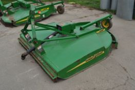 6' John Deere MX6 rotary mower, 3 pt, 540 pto