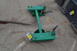 John Deere quick attach to skid steer attach conversion
