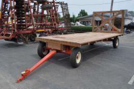 8' x 16 flat rack wagon on Kory 6872 gear, new floor