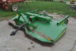 10' John Deere MX10 rotary mower, 3 pt, 540 pto