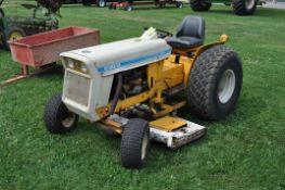 "International Cub-Lo Boy 154 tractor, 4 speed, gas motor,2 wd, w/59"" mower deck, newer starter"