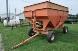 J&M 350 gravity bed wagon on gear