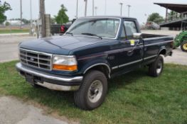 Ford F250 pickup truck, reg cab, long bed, 4x4, gas, automatic