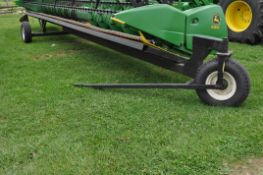 30' header cart, tricycle front