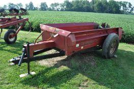 Case IH 530 manure spreader, 10' box, 540 PTO, single beater, wood floor