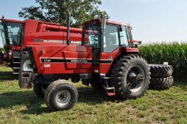 International 5288 tractor, C/H/A, 520/85R38 duals, 14L-16.1 front tires, 3 x 6 partial powershift