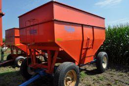 Killbros 385 gravity bed wagon, Killbros 1386 gear, 11R22.5 tires