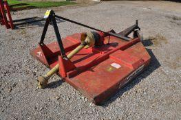 Bush hog 256 rotary mower, 3 pt, tail wheel, 540 PTO, stump jumper